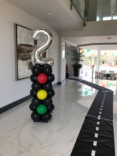 Creative Balloons by Cathy - Balloon Artist, balloon twisting ent 2nd Birthday Party For Boys, Hot Wheels Birthday, Second Birthday Ideas, Race Car Birthday, Race Car Party, Cars Birthday Parties, Hot Wheels Party, Birthday Party Decorations, Cars Birthday Invitations