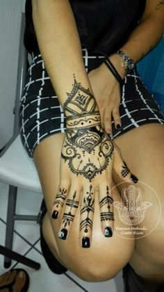 Tatuajes de Henna Henna Mehndi, Hand Henna, Hand Tattoos, Costa Rica, Henna Tattoos, Women