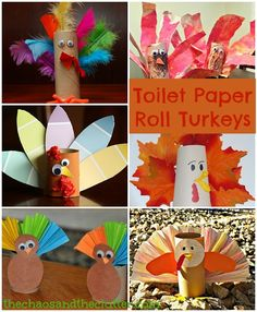 Looking for something to do with empty paper towel rolls? Here are 16 ideas for fall crafts.