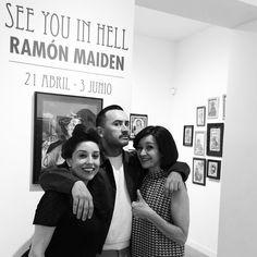 See you in Hell. Una exposición de Ramon Maiden. del 21 de abril al 3 de junio de 2017.