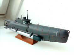 U-5022, Kleinst-U-Boot Seehund, Typ XXVII B. 1/72 Revell