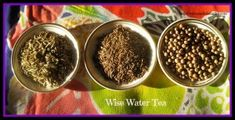 "Have you heard of Wise Water Tea?  ""This combination of 3 herbs increases our digestive ability as well as extremely effective as detoxification tonic. It is a delicious detoxifying tonic, for after the holidays,  but has specific uses in herbal medicine circles; to help the body strengthen and clear toxins after cancer chemotherapy."""