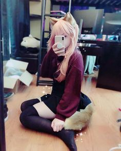 Image may contain: one or more people, people sitting and indoor Cosplay Outfits, Cosplay Girls, Cute Emo Girls, Emo Scene Hair, Prity Girl, Kawaii Cosplay, Pose, Grunge Girl, Girls Selfies