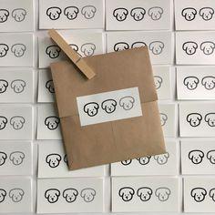 Cream Aesthetic, Brown Aesthetic, Cute Packaging, Brand Packaging, Packaging Ideas, Packaging Inspiration, Pen Pal Letters, Zine, Aesthetic Stickers