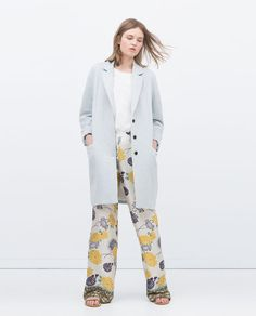 ZARA - NEW THIS WEEK - LONG COAT