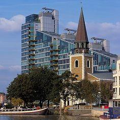 Architect - Richard George --Rogers. Project - Montevetro. Location- London, UK. Date- 1994-2000