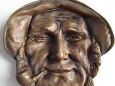 Vintage Cast Iron / Sailor / Fisherman / by HandmadeandCollect