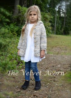 Ravelry: Cloudyn Sweater pattern by Heidi May Baby Hats Knitting, Knitting For Kids, Knitted Hats, Heidi May, Velvet Acorn, Knitted Baby Cardigan, Baby Sweaters, Knitting Patterns, Knit Crochet
