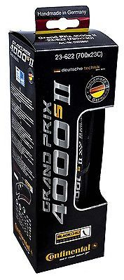 Tires 177828: New In Box 2016 Continental Grand Prix 4000S Ii Black 700 X 23C Road Bike Tire BUY IT NOW ONLY: $32.95