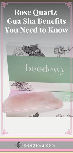 Our Bee Rosy Gua Sha is not just any rose quartz gua sha available on the market today. Click through and check out the Rose Quartz Gua Sha benefits that you can experience with our gua sha. Dewey Skin, Jade Rolling, Gua Sha, Massage Tools, Alternative Therapies, Facial Massage, Skin Care Tools, Beauty Routines, Need To Know