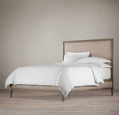 Maison Bed Without Footboard | Upholstered Beds | Restoration Hardware