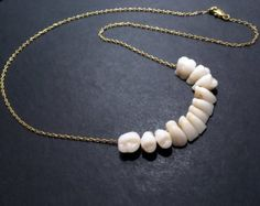 MADE To ORDER Human Teeth Tooth Necklace Pendant Gold by TheExcuse