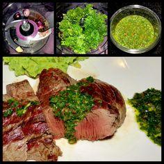 Chimichurri, Steaks, Pesto, Dips, Food, Beef, Red Peppers, Meal, Food Food