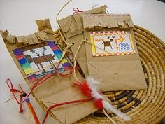 Medicine Bags for American Indian lessons Core 3