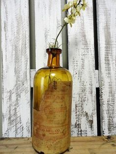 """I need to start collecting glass bottles for the gazillion things I wanna make! 