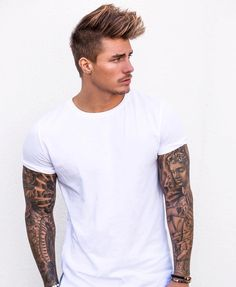 @johnnyedlind from @streetfashionchannel Sleeve tattoos? Yes or No