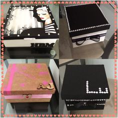Artesanato: caixinhas mdf