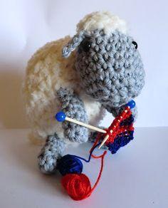 Ravelry: Amigurumi sheep lamb knitting crochet pattern pattern by Liz Ward Crochet Sheep, Crochet Animals, Crochet Toys, Knit Crochet, Mini Doodle, Sheep And Lamb, Knitting Yarn, Homemade Gifts, Crochet Patterns