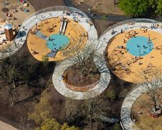 Woodland Discovery Playground at Shelby Farms Park
