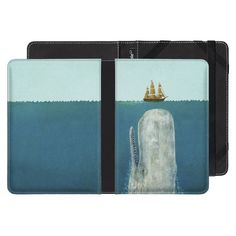 Amazon Kindle Paperwhite, eReader Cover, The Whale, Terry Fan