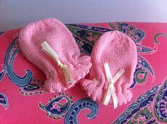Ravelry: Rosebud Layette - Mittens pattern by Patons Australia