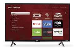 Price: (as of – Details) 32 Inch class HD Roku Smart TV. Roku TV personalized home screen. 3 HDMI inputs, analog video input, USB port, digital and analog audio output. Gregory House, Electronics Projects, Electronics Gadgets, Amazon Electronics, Technology Gadgets, Smart Tv Samsung, Tv Without Stand, Tv 40, Netflix Videos