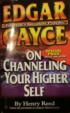 Edgar Cayce on Channeling Your Inner Self Book America's Greatest Psychic  edgar carce on channeling your higher self by henry reed...   https://nemb.ly/p/NJIy5jxD_ Happily published via Nembol