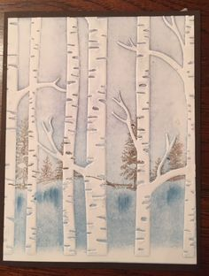 Behind the Trees Holiday Hard by Provinca - Cards and Paper Crafts at Splitcoaststampers