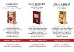 Depliant programma presentazioni aperitivo I Quaderni del Loggione