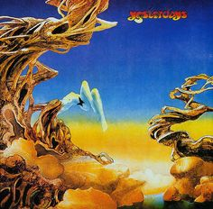 cover art by Roger Dean for Yes