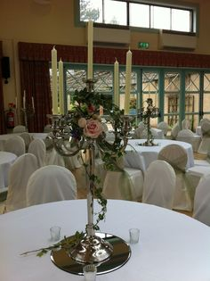 simple candelabra by Paperwhite Flowers