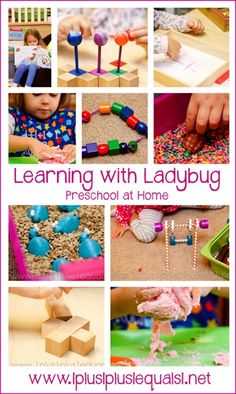 Learning with Ladybug ~ #Preschool at Home