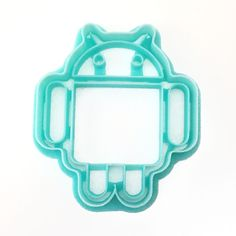 Google Android Logo in Cookie Cutter form! - Handmade - 3D Printed with ABS - Dishwasher safe Plastic cookie cutter ideal for cookie-cutter-compatible dough recipes (sugar cookies, ginger bread, etc.