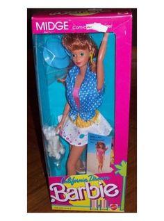 Mattel California Dream Barbie ~ Midge
