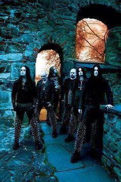 Metal Music Bands, Heavy Metal Bands, Black Metal, Dimmu Borgir, Viking Metal, Goth Guys, Dark City, Extreme Metal, Gothic Metal
