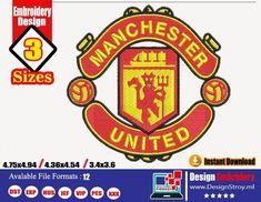 Embroidery Store, Embroidery Tools, Embroidery Files, Machine Embroidery Designs, Club Design, Logo Design, Computer Basics, Manchester United Football, Janome