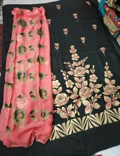 """Ladies trouser suits for weddings : """"Checkout latest collection of trouser suit for ladies Online in India"""" ? CALL US : + 91 - 01094 or Whatsapp DESIGNER Trouser Suit WORK - Handwork COLOURS Available In All Colours Fine quality fabric Embroidery Suits Punjabi, Hand Embroidery Dress, Embroidery Suits Design, Designer Punjabi Suits Patiala, Punjabi Suits Designer Boutique, Fabric Painting On Clothes, Painted Clothes, Dress Painting, Work Suits For Women"""