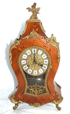 The movement has the 'FHS monogram dial' trademark to the movement which is for Franz Hermle & Sohn, Gosheim, GERMANY who were founded in 1922. The clock is happily ticking away and keeping good time and the movement is lovely and clean as can be seen from the photographs. | eBay!