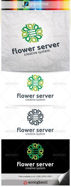 Flower Server V.3 — Vector EPS #host #modern • Available here → https://graphicriver.net/item/flower-server-v3/8315009?ref=pxcr