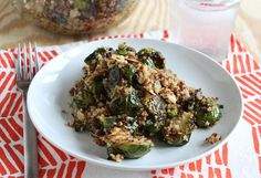 Brussels and quinoa salad