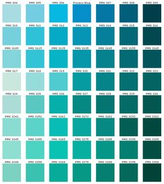 Blue is my color. I like light and dark blue (esp. sapphire blue, navy blue) but wouldn't be comfortable with the options in the bottom left corner up from bottom to four to the right) Pantone Color Chart, Pantone Colour Palettes, Pastel Colour Palette, Colour Pallette, Color Palate, Colour Schemes, Color Mixing Chart, Color Blending, Color Palette Challenge