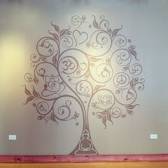 Mural at Inner Peace Pilates. End of Day 5. Complete!--Jenny Gorecki