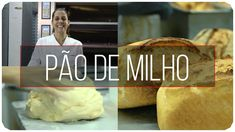 PÃO DE MILHO   MASSA MADRE