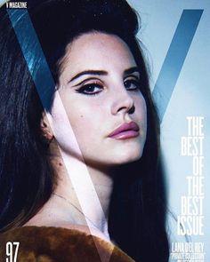 """V Magazine cover girl  #lanadelrey"""
