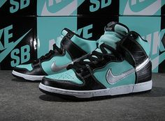 sneakers for cheap 43cd6 9735b Nike SB Dunk Tiffany Hype Nike Sb Dunks, Diamond Supply Co, New Sneakers,