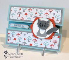 Foxy Friends Fun Fold card with video