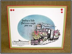 Click on the picture to see more of Angela's Projects. #stampinup #handmadecards…