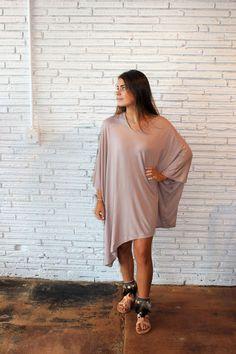 YanaK Poncho Dress, Asymetrical