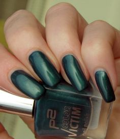 Green, Glaze & Glasses: Lacke in Farbe... und bunt! - Petrol (p2 Color Victim 990 free to be)
