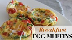 Baked eggs, Eggs and Mom blogs on Pinterest